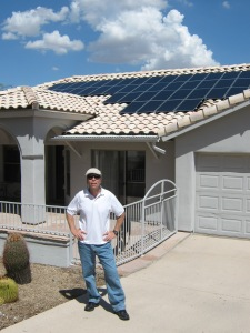 Our new 3.8 Kw leased solar system